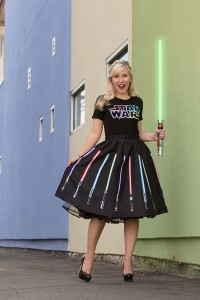 Her Universe - Lightsaber t-shirt and skirt