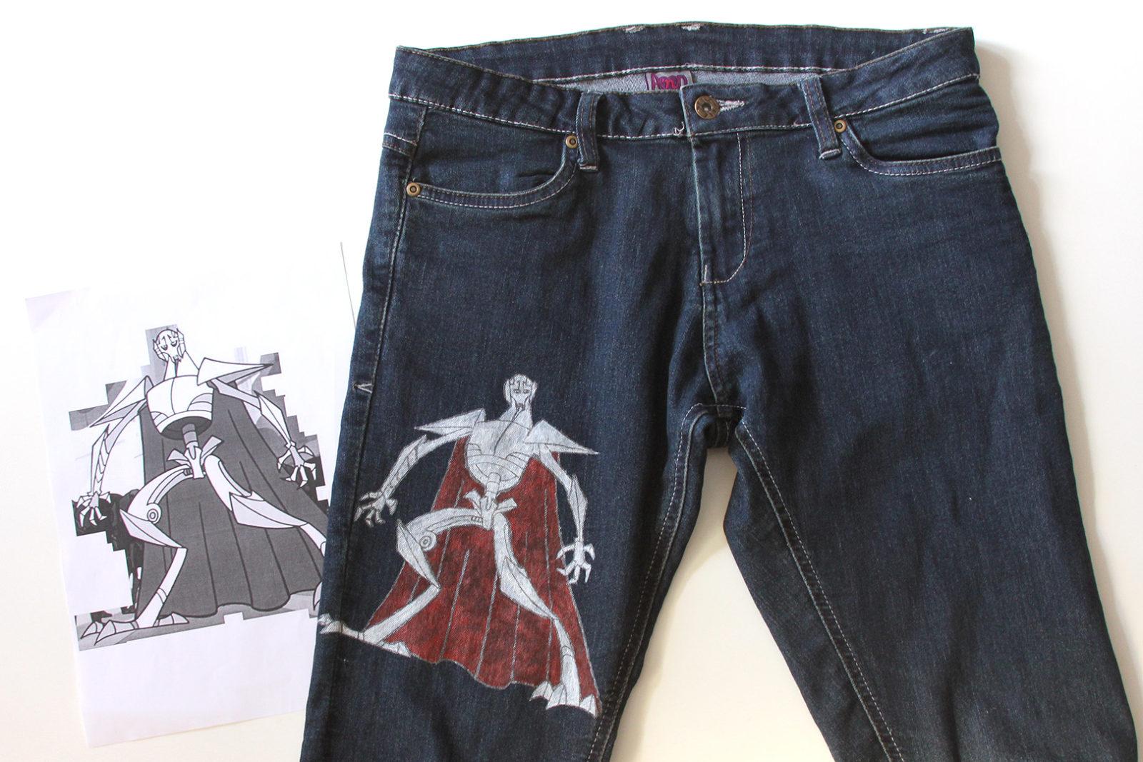 DIY – General Grievous jeans