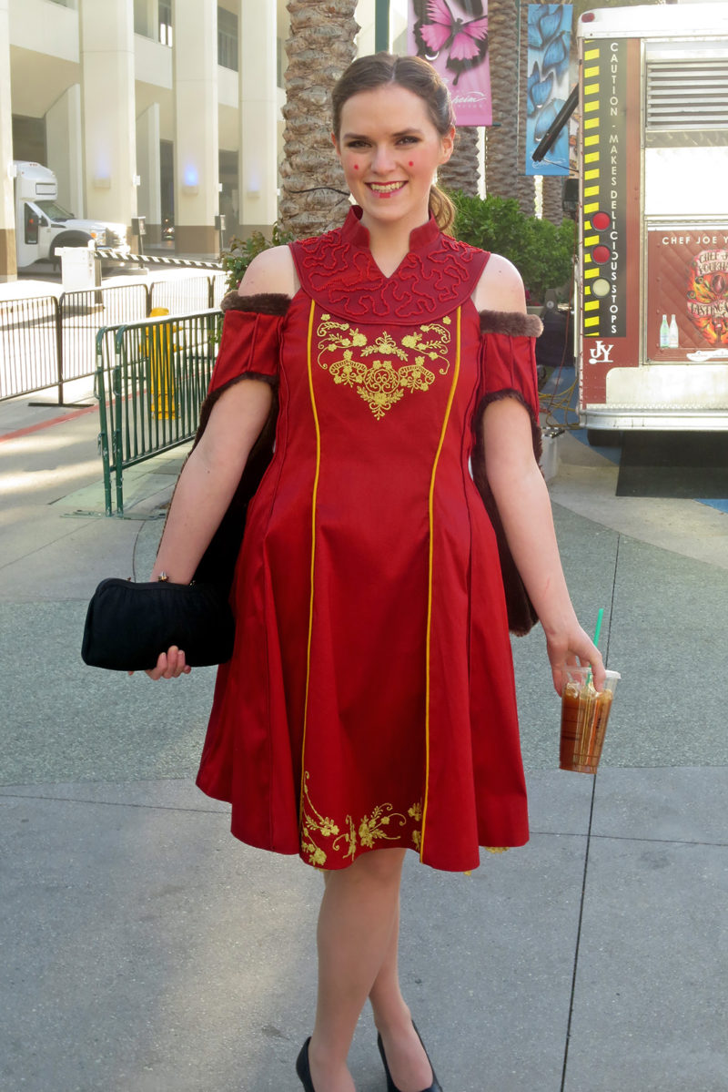 Celebration Anaheim - fan made Queen Amidala inspired fashion