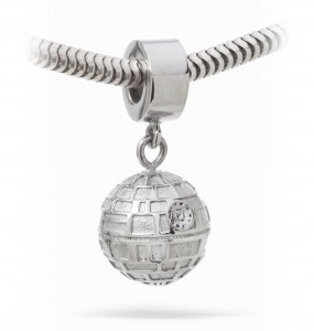 Death Star charm from Thinkgeek