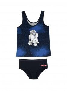 Hot Topic - women's R2-D2 Underoos
