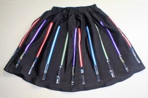 Her Universe - lightsaber skirt (back)