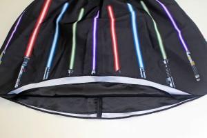 Her Universe - lightsaber skirt (detail)