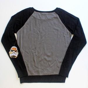We Love Fine X Goldie - Rebel Scum sweater (back)