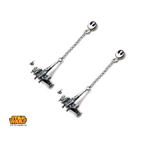 Body Vibe - X-Wing dangle earrings