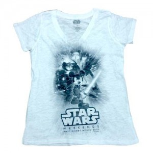 Disney - Star Wars Weekends women's burn-out t-shirt