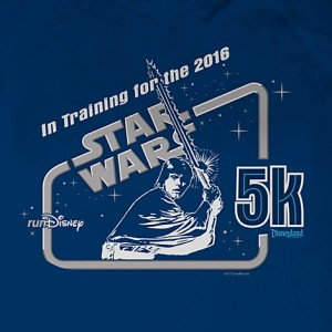 Disney Store - women's 5k t-shirt (detail)