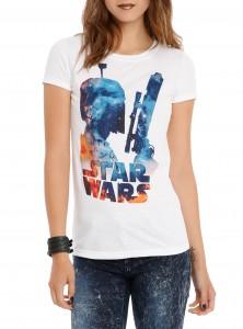 Hot Topic - Boba Fett galaxy t-shirt