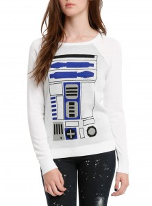 Hot Topic - women's R2-D2 sweater