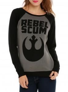 Hot Topic - Rebel Scum sweater