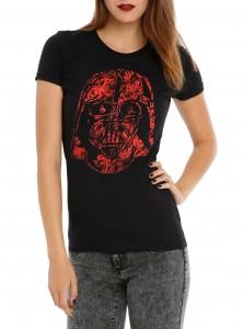 Hot Topic - Darth Vader rose t-shirt