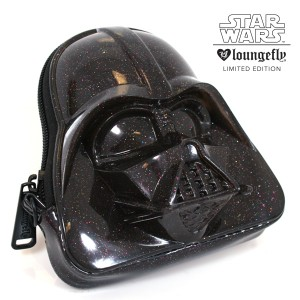 Loungefly - SDCC exclusive glitter Darth Vader 3D coin purse
