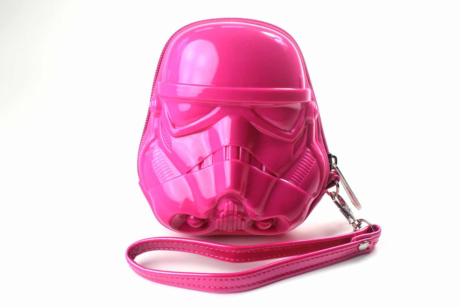 Loungefly - pink Stormtrooper coin purse (front)