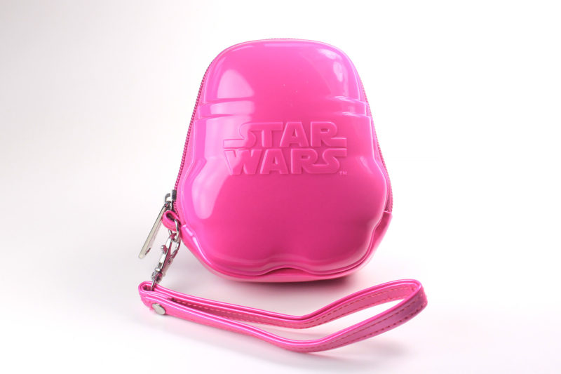Loungefly - pink Stormtrooper coin purse (back)