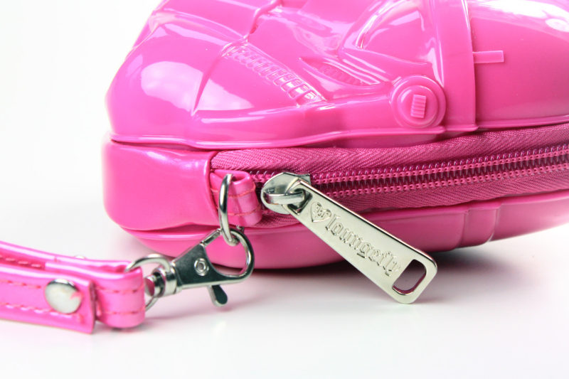 Loungefly - pink Stormtrooper coin purse (side/detail)
