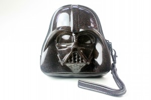 Loungefly - glitter Darth Vader coin purse (front)