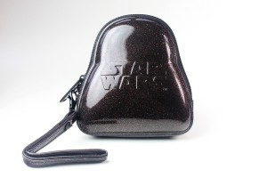 Loungefly - glitter Darth Vader coin purse (back)