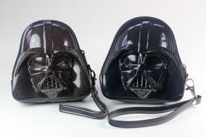 Loungefly - comparison of coin purses (glitter vs black)