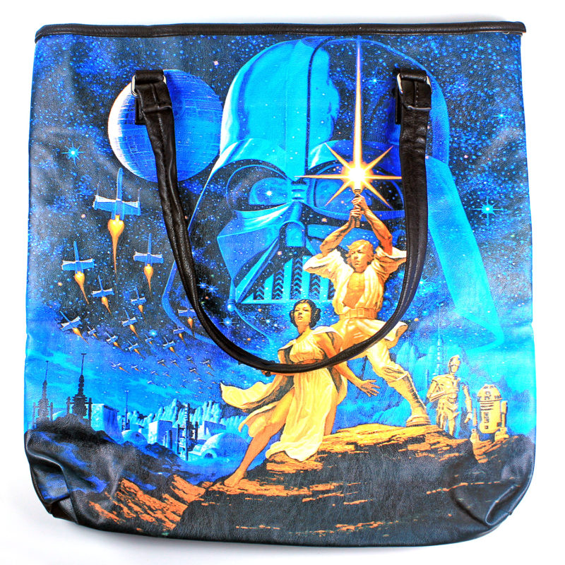 Loungefly - Luke & Leia Photo Real Tote (front)