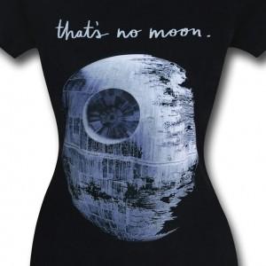 That's No Moon women's t-shirt
