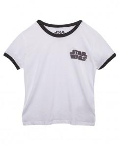 Wet Seal - women's Star Wars logo ringer t-shirt (front)