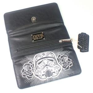 Loungefly - sugar skull stormtrooper wallet (exterior)