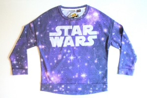 Next - size 14 girl's Star Wars logo crew top (front)