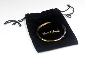 Han Cholo - Vader Saber cuff with jewelry bag
