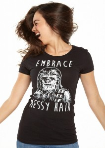 Delia's - women's Embrace Messy Hair t-shirt