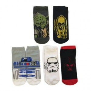 JCPenney - 5-pack Star Wars socks