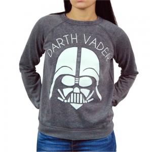 Jukupop - women's Darth Vader sweatshirt (front)
