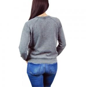 Jukupop - women's Darth Vader sweatshirt (back)