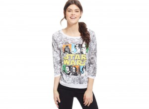 All-over print top at Macy's