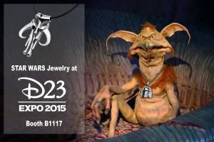 Exclusive pendant at D23