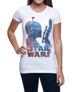 Shirts.com - women's galaxy Boba Fett t-shirt