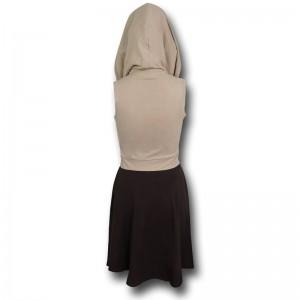 SuperHeroStuff - Jedi Cowl Dress (back/cowl up)