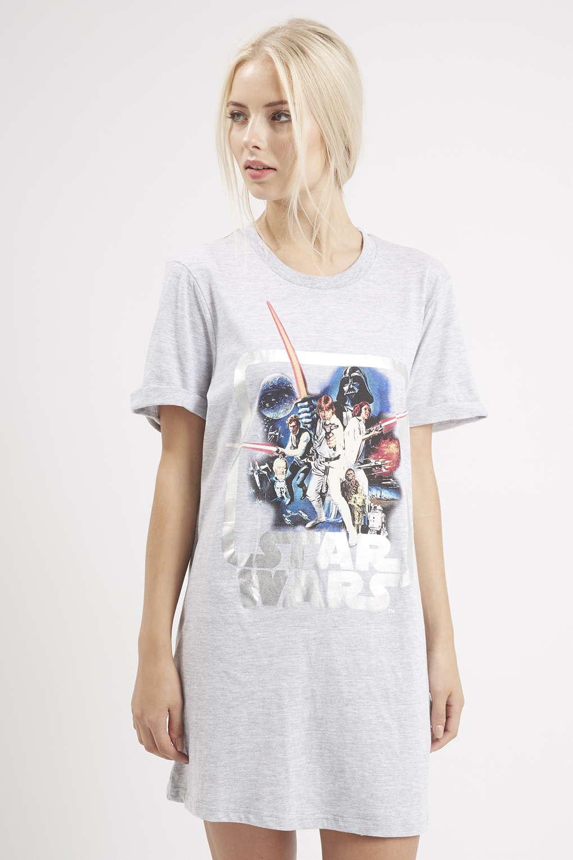 e52255411bee7 ... Topshop - women's Star Wars pyjama shirt ...