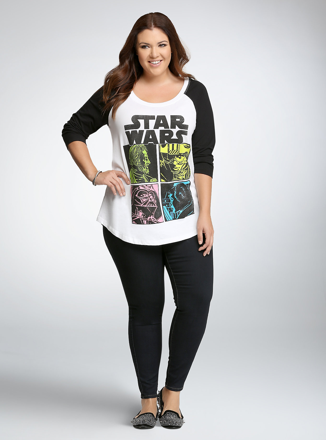 New raglan top at Torrid - The Kessel Runway