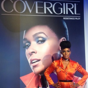 Covergirl x Star Wars - Janelle Monae with 'Resistance Pilot' advert
