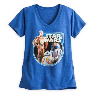 Disney Store - women's 'Droids' t-shirt (front)
