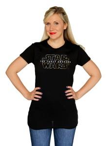 Her Universe - The Force Awakens logo t-shirt