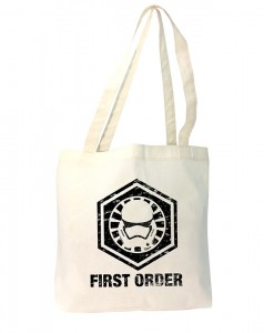 Her Universe - First Order Resistance tote bag (front)