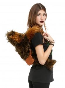 Hot Topic - faux fur Chewbacca backpack