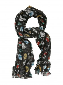 Hot Topic - women's Star Wars Icons Print oblong scarf by Loungefly