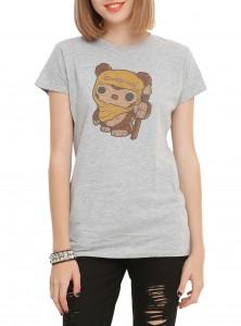 Hot Topic - Pop! Vinyl style Wicket print women's t-shirt