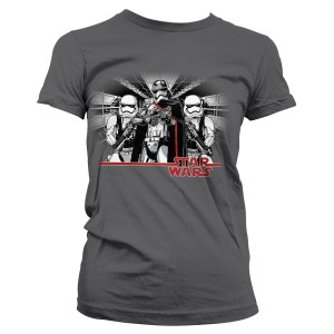 Hybris - women's Captain Phasma and troopers t-shirt