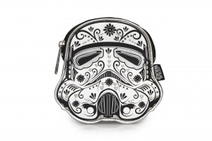 Loungefly - floral sugar skull Stormtrooper coin purse