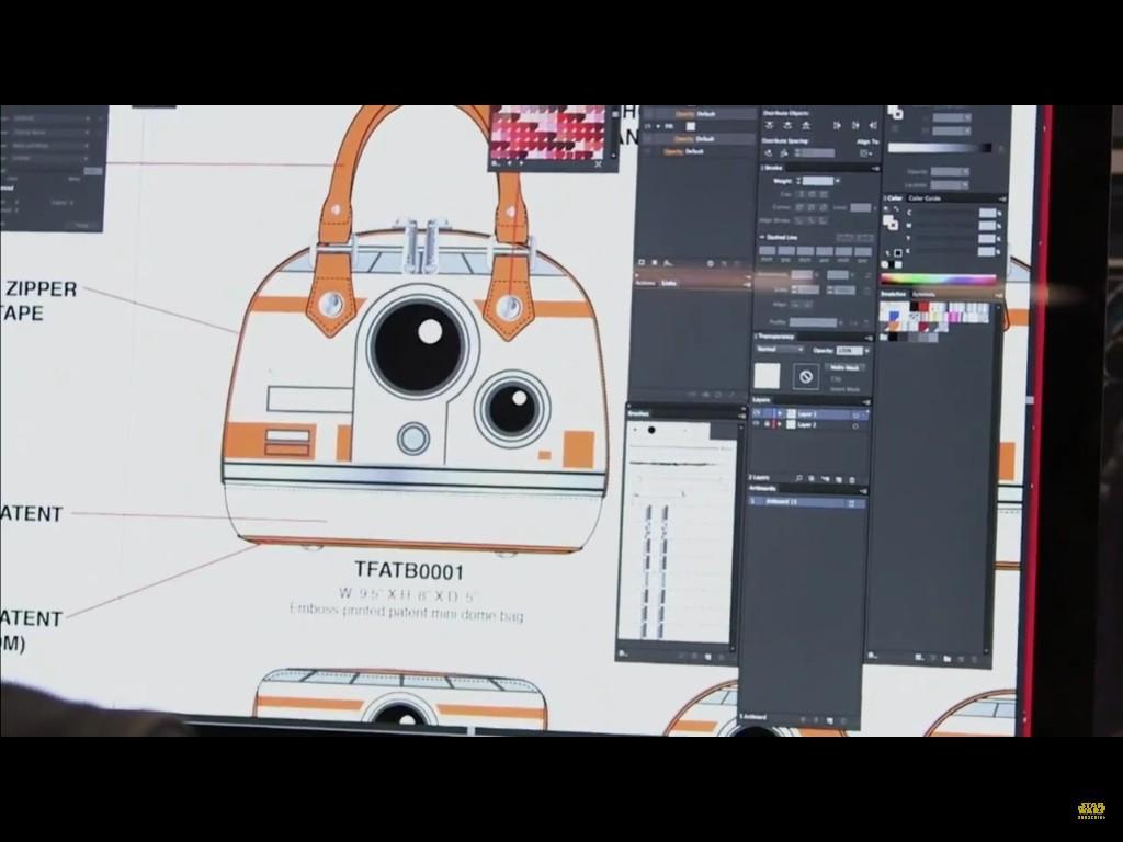 BB-8 handbag from Loungefly!