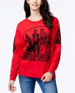 Macy's - women's character red sweatshirt by Freeze 24-7