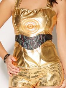 Spencers - women's C-3PO corset top